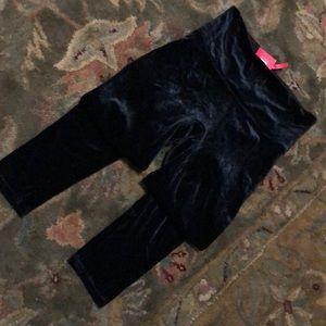$70 NEW  BLACK VELVET SPANX LEGGINGS